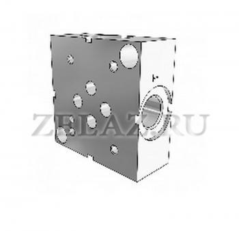 Плита гидравлическая одноместная отверстия сбоку SPS DN06 1/4 фото 1