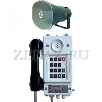 Аппарат телефонный взрывозащищенный ТАШ-21ExС-С - фото