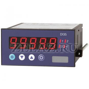 Цифровой индикатор для монтажа в панель DI35 - фото