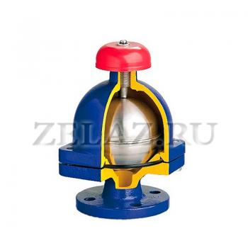 Клапан воздухоотводящий фланцевый арт. 917А ZETKAMA - фото