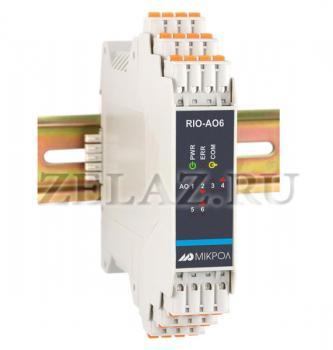 Модуль вывода RIO-AO6 - фото