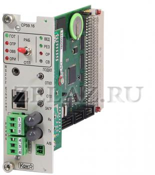 Модуль микропроцессорный СР59.16 - фото