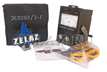 Мегаомметр стрелочный ЭС0202/2Г - комплектация